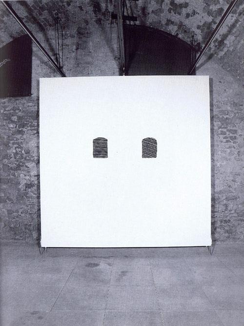 Installation märz galerien Mannheim Ladenburg 1992