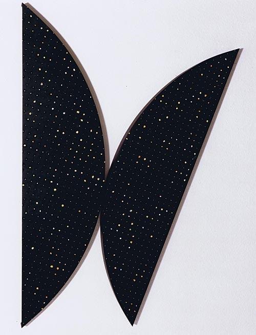 'Segmente 991-IV' 1991, Acryl auf Holz, 160 x 100 x 6 cm